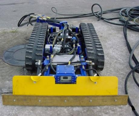Limpeza Robotizada de Tanque