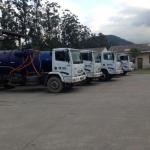 Aluguel de caminhão vácuo