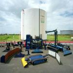 Limpeza de tanques de óleo diesel