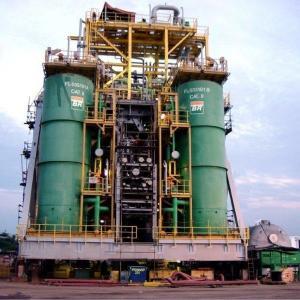 Flotador agua óleo