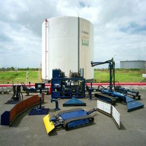 Limpeza de tanques de diesel